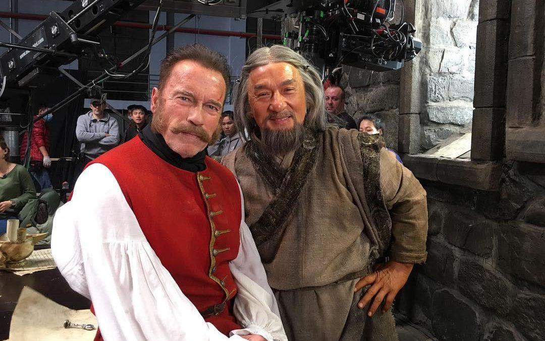 Jackie Chan e Arnold Schwarzenegger Juntos em Um Novo Filme